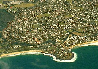 Barrack Heights, New South Wales - Image: Barrack Point Barrack Heights Aerial