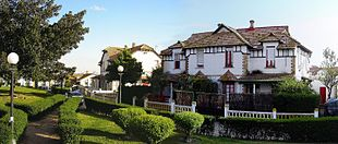 Queen Victoria district, English-style suburb
