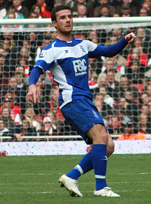 Barry Ferguson - Barry Ferguson playing for Birmingham City