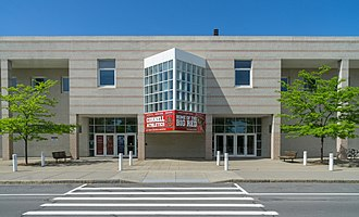 Cornell Big Red men's basketball - Bartels Hall, home of Newman Arena. Opened 1990.
