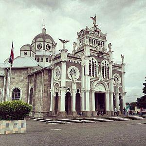Die Basilika Nuestra Señora de los Ángeles in Cartago