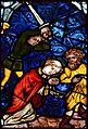 Basilika Seckau, Gnadenkapelle, Gotisches Glasfenster 4.jpg