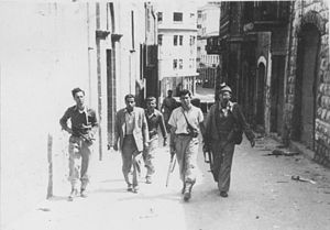 Battle of Haifa (1948) - Jewish fighters in Haifa