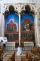 Bayeux Cathédrale Notre-Dame Transept du sud Peinture murale 2016 08 22.jpg