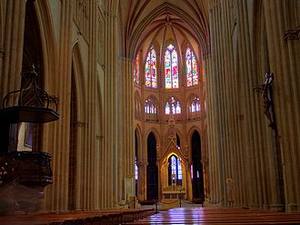 Bayonne Cathedral - Interior - Bayonne Cathedral