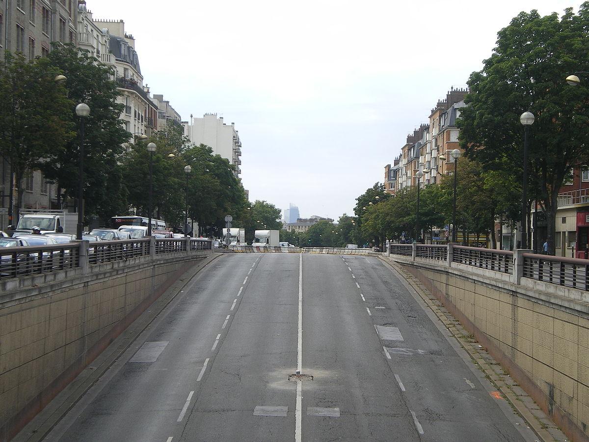 Boulevard bessi res wikip dia - Porte de saint ouen paris ...