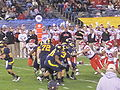 Bears on offense at 2009 Poinsettia Bowl 9.JPG