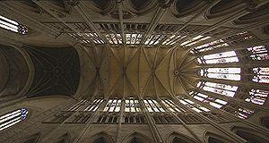Cathédrale de Beauvais: la voûte du choeur