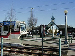 WES Commuter Rail - Beaverton Transit Center