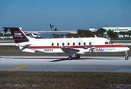 Beech 1900D, USAir Express (Air Midwest) AN1076504.jpg