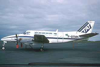 GP Express Flight 861 - Typical Beechcraft Model 99, aircraft type involved in accident.