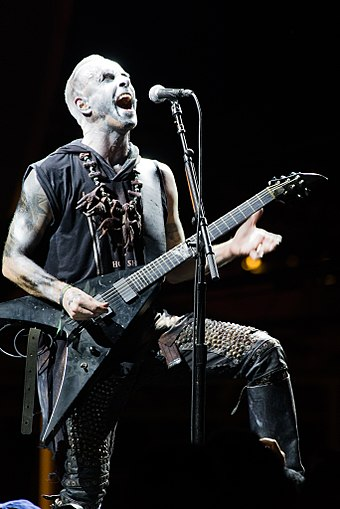 Nergal in 2015 Behemoth @ 70000 tons of metal 2015 02.jpg