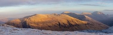 Beinn an Dothaidh in morning sun, Scotland.jpg