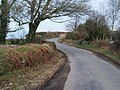 Bend in the road above Plas Du - geograph.org.uk - 1777972.jpg