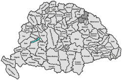 Location of Берег