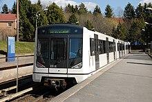 Convoglio MX3000 della metropolitana