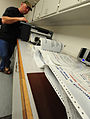 Bernard Jones, with the 509th Civil Engineer Squadron, prints restricted area signs on a thermal printer at Whiteman Air Force Base, Mo., March 11, 2013 130311-F-EA289-192.jpg