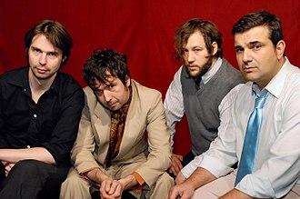 Bernd Begemann - Bernd Begemann (far right) and band Die Befreiung, Oct. 2007
