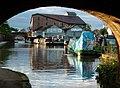 BettonMillOnShropshireUnionCanalAtMarketDrayton(AndyAndHilary)Apr2005.jpg