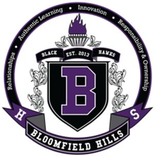 Bloomfield Hills High School - Image: Bhhs crest