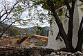 Bhutan - Punakha Dzong - New bridge across river under construction - panoramio.jpg