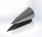 Bi-Conic Nose Cone Render.png
