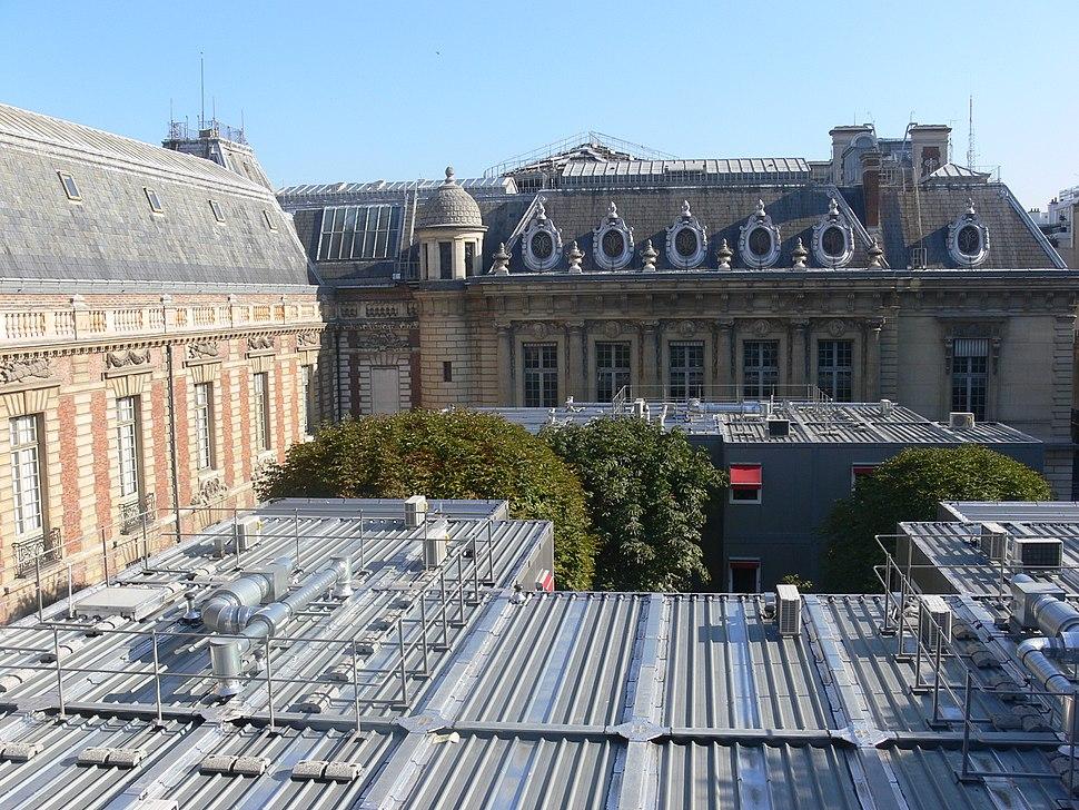 Bibliothèque nationale de France (Richelieu) - cour Vivienne haut