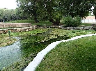 Big Spring Creek (Montana) - Source of Big Spring Creek