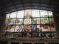 Bilbao (Vizcaya)-Estación de Renfe de Abando Indalecio Prieto-Vidriera.jpg