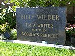 Billy Wilders grave (978339409).jpg