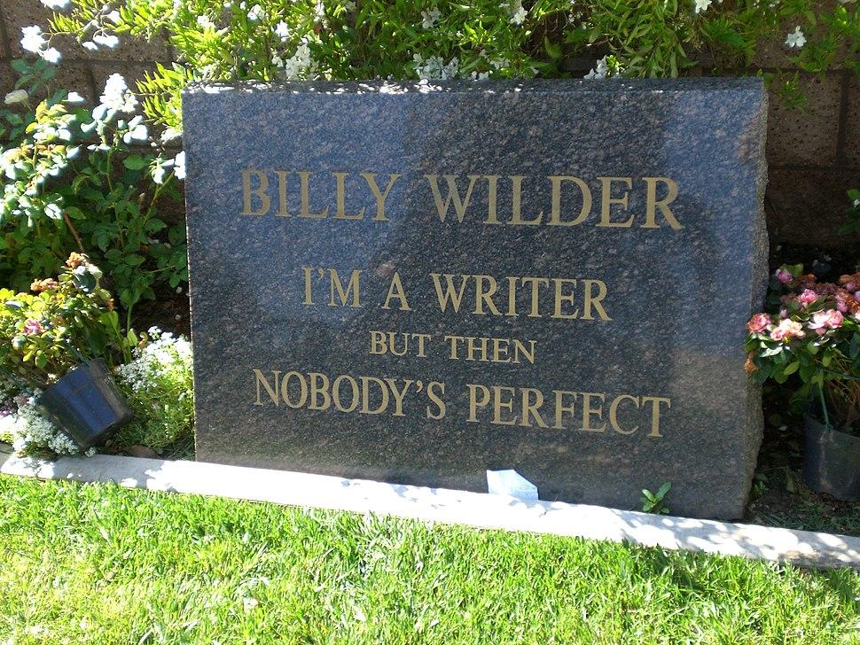 Billy Wilders grave (978339409)