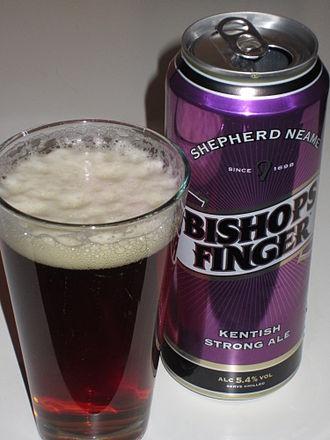 Shepherd Neame Brewery - Bishops Finger.