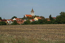 Skyline of Blažovice