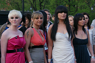 Black Daisy - Black Daisy with Sinéad Mulvey in Moscow (2009)
