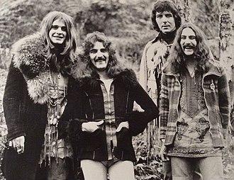 Ozzy Osbourne - Black Sabbath in 1973