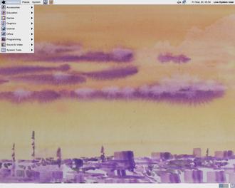 BLAG Linux and GNU - Image: Blag Desktop