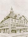 Bleistiftzeichnung von 1908 (1952 gemalt, Künstler unbekannt).jpg