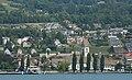 Blick vom Zürichsee auf Meilen (2009).jpg