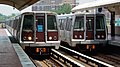 Blue Line trains at Eisenhower Avenue (49678598867).jpg