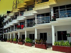 St. Martin's Island - A resort hotel on St. Martin's Island
