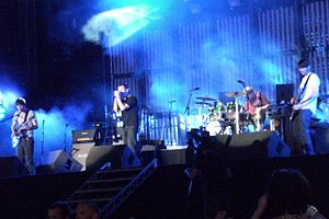 Blur discography - Blur performing at Hyde Park in July 2009
