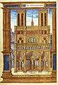 BnF - Latin 1226-2 Pontifical romain aux armes de Jean II de Mauléon - Notre-Dame de Paris.jpg