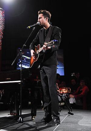 Bobby Bazini - Image: Bobby Bazini at Music & Movies CFC Gala & Auction Fundraiser 2014