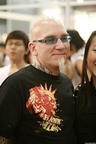 Bob Tyrrell (tattoo artist) - Image: Bobtyrrelltattooarti st