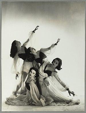 Gertrud Bodenwieser - Bodenwieser's pupils' waltz, 1953