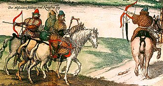 Kholop - Military slaves in the 16th century.