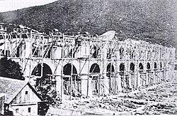 Borovnica viaduct construction-by Johann Bosch.jpg