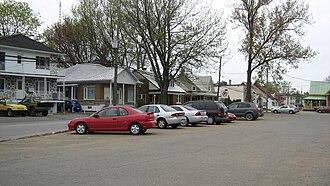 Saint-Boniface, Quebec - Image: Boulevard Trudel Est Saint Boniface