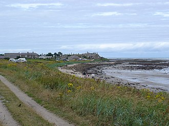 Independent lifeboats in Britain and Ireland - Image: Boulmer Haven geograph.org.uk 40312