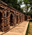 Boundary of the Isa Khan's Mosque.jpg